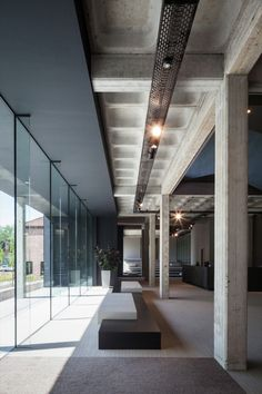 Image 15 of 25 from gallery of AGO Office HQ / Steven Vandenborre architects. Photograph by Tim Van de Velde