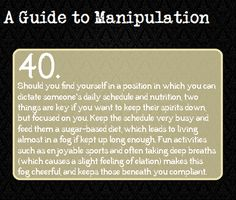 A Guide to Manipulation: #40 I think these should go on my writing board