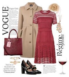 """""""Red red wine"""" by sundangofashion ❤ liked on Polyvore featuring Anja, Accessorize and Nordstrom"""