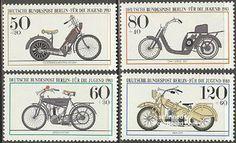Motor cycles 4v  1983