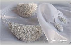 Alkalmi, esküvői ékszerek | Hegyikristály csipke egy különleges napra | Lakota mágia ékszerek