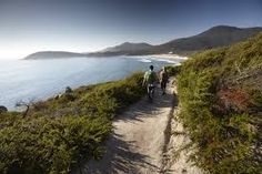 Walking the Squeaky Beach track in Wilsons Promontory National Park