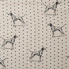 Gorgeous Dalmation spotty dog shopper made with Emily Bond Dalmation fabric