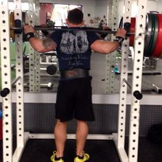 Davey Richards working out