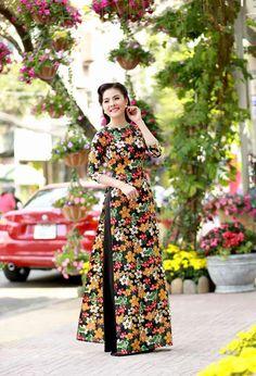 hoa hậu mai phương thúy với áo dài - Tìm với Google