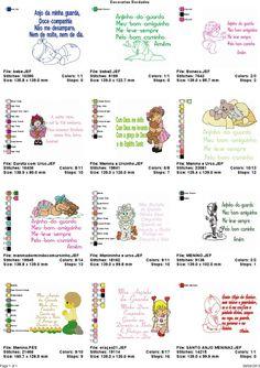 Coleção De Bordados Criancinhas E Orações - R$ 9,99 no MercadoLivre