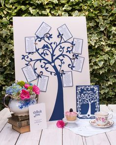 Gorgeous papercut wedding stationery and decorations from Paper Tree Design - http://papertreedesign.co.uk/ - Images Cristina Colli – http://www.cristinacolli.com