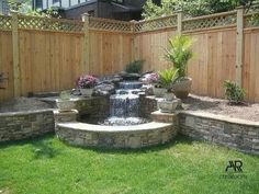 60 DIY Backyard Privacy Fence Design Ideas on A Budget - Insidexterior Backyard Garden Design, Ponds Backyard, Small Backyard Landscaping, Backyard Projects, Backyard Patio, Garden Projects, Nice Backyard, Landscaping Tips, Desert Backyard