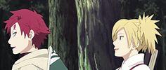 anime, naruto shippuden, gaara, temari and kankuro, gif
