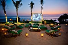 Film Screening of the Nio Beach Club at the Nihiwatu Hotel, Sumba Island, Indonesia Yogyakarta, Resorts, Places To Travel, Places To Visit, Beach Design, Travel With Kids, Asia Travel, Vacation Destinations, Costa