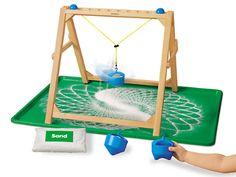 Make-A-Design Sand Pendulum at Lakeshore Learning