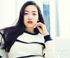 f(x)'s Victoria is a Sultry Beauty in 'High Cut' Victoria Fx, Victoria Song, South Korean Girls, Korean Girl Groups, Song Qian, Choi Jin, Chinese Actress, Queen, Celebs