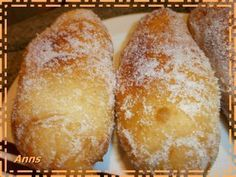Yeast Donuts, Baked Donuts, Mexican Sweet Breads, Mexican Food Recipes, Fun Easy Recipes, Sweet Recipes, Beignets, Peruvian Desserts, Puff And Pie