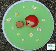 Fondant Nursery Rhyme Little Red Riding Hood by EdibleAvenue