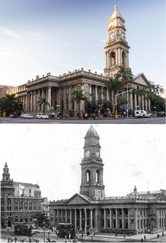 Durban Post Office. This Victorian styled building was originally erected in 1885 as Durban's first town hall, which was designed by Phillip Dudgeon in 1882. It was the first meeting place of the South African National Convention, which took place in a hall to the left of the building. It served as the town hall until the time of the Union in 1910, and is situated opposite the current city hall. To-day, it houses the General Post Office. It was declared a National Monument under old NMC…