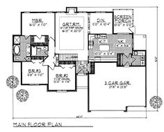 House Plan chp-1439 at COOLhouseplans.com