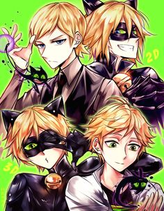 Miraculous ladybug: Adrien and Felix by Dessa-nya on DeviantArt