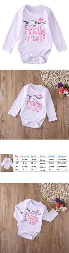Baby Girls Clothing: Usa Newborn Infant Baby Girls Bodysuit Romper Jumpsuit Clothes Outfits Set -> BUY IT NOW ONLY: $6.99 on eBay!