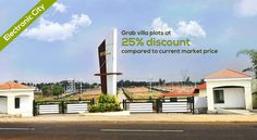 Few Plots Available for Group Purchase! Opportunity to live, invest and grow www.bookmyplots.com Call us at :- 098445 75001