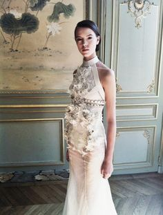 Josefien Rodermans for Givenchy Fall 2011 Haute Couture