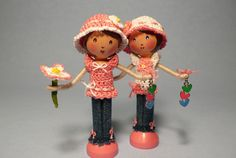 Little Blue Jean Clothespin Dolls | Flickr - Photo Sharing!