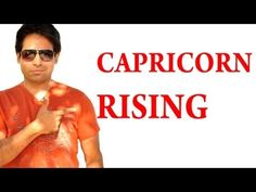 All About Capricorn Rising Sign & Capricorn Ascendant In Astrology