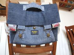 how to transform a child pants into a school bag, pattern and tuto (in french) by Vers L'essentiel