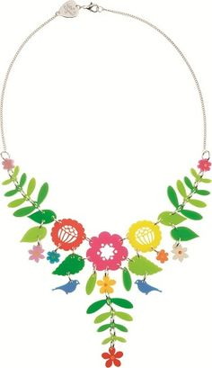 Tatty Devine floral necklace
