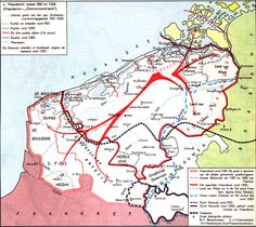 County of Flanders with changing Borders European Map, European History, Holland Map, Kingdom Of The Netherlands, Carolingian, Viking Ship, Old Maps, Medieval Times, In Ancient Times