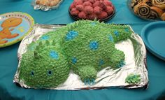 Boy Birthday Ideas Dinosaur Cake