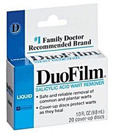 Duofilm Liquid Salicylic Acid Wart Remover  http://www.skintagsgone.com/dr-scholls-duofilm-liquid-salicylic-acid-13-oz-review/