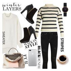 """Winter Layers"" by pure-vnom ❤ liked on Polyvore featuring Tabula Rasa, DKNY, Dune, Yves Saint Laurent, Fendi and Abbott Lyon"