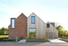 A Modern Farmhouse with Historic Walls - http://freshome.com/a-modern-farmhouse-with-historic-walls/