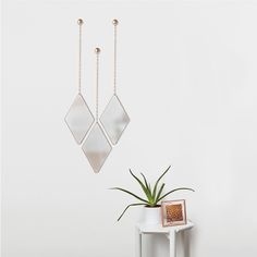 Umbra - Dima Mirror - Set of 3 - Copper