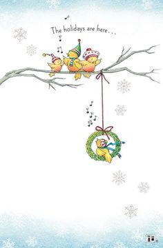 Mary Engelbreit - birdie holidays