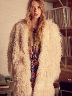Lamy Faux Fur Coat from Free People!