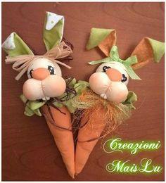 Mrs & Mr CarrotsBunny