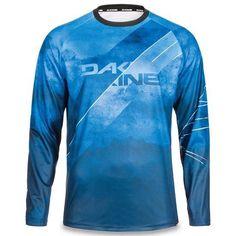 Dakine thrillium DH Downhill Mountain Bike Long Sleeve Jersey Midnight Blue  Rock 3af0bf368
