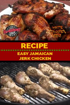 Take this simple Jamaican Jerk chicken recipe and marinate some bone-in chicken in it for about 5 hours for a really delicious meal straight off the grill! Beef Brisket Recipes, Grilling Recipes, Cooking Recipes, Smoker Recipes, Cooking Ideas, Food Ideas, Smoked Pastrami Recipe, Smoked Beef, Jerk Chicken