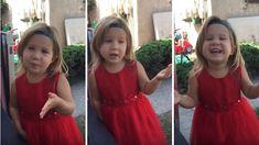 Cute Flower Girl Schools Dad On How He Just Doesn't Understand Weddings!
