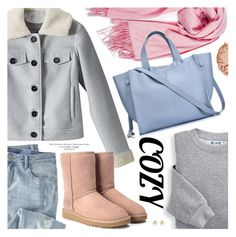 """Cozy Chic"" by metisu-fashion ❤ liked on Polyvore featuring Le Métier de Beauté, Blair, Wrap, UGG, polyvoreeditorial, cozychic and polyvoreset"