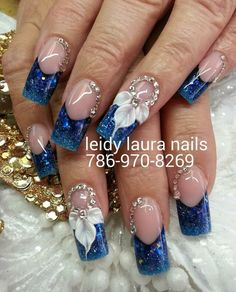 In seek out some nail styles and ideas for your nails? Here's our set of must-try coffin acrylic nails for stylish women. Rhinestone Nails, Bling Nails, 3d Nails, Cute Nails, Pretty Nails, Stiletto Nails, Beautiful Nail Designs, Beautiful Nail Art, Gorgeous Nails