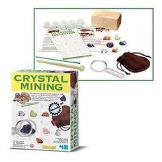 Crystal and Mining Kit