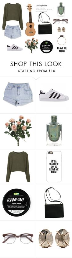 """Untitled #234"" by coolcatsintown on Polyvore featuring adidas Originals, Topshop, Casetify and Melissa Joy Manning"