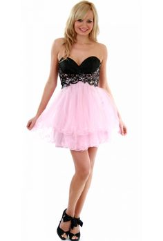 Image detail for -... Designer Party Dresses › Cody Baby Pink Tulle Butterfly Prom Dress