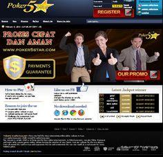 poker5star.com tempat atau penyedia permainan texas poker secara real money, minimal deposit Rp. 50.000,- Support BCA dan Bank Mandiri. http://gayahidup-online.blogspot.com/2013/02/poker5starcom.html