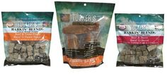 Tucker's Grain Free Natural Dog Treats 3 Flavor Variety Bundle: (1) Barkin' Blends Beef and Sweet Potato, (1) Slammin Sammy Chicken Breast and Banana, (1) Beef and Bacon Barkin' Blends, 2.5-5 Oz ea (3 Bags) ** You can get additional details at the image link. (This is an affiliate link and I receive a commission for the sales)