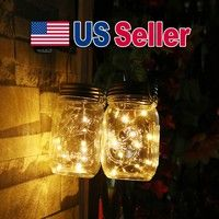 Kindly note:this item is mason jar lid light,but not include the mason jar  Solar Panel Mason Jar Li