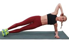 Jennifer Lopez& trainer David Kirsch swears by side-plank oblique crunches for a strong core—here& why it& such an incredible abs exercise for everyone. Effective Ab Workouts, Lower Ab Workouts, At Home Workouts, Ab Exercises, Core Workouts, Ab Workout Men, Abs Workout Routines, No Equipment Workout, Morning Ab Workouts