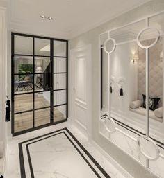 classic - New Deko Sites Luxury Homes Interior, Interior Exterior, Home Interior Design, Interior Decorating, Hotel Door, Hallway Designs, Bedroom Wall Colors, House Entrance, Suites